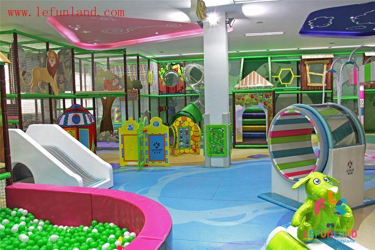 Childrens climbing equipment indoor for Indoor play slide