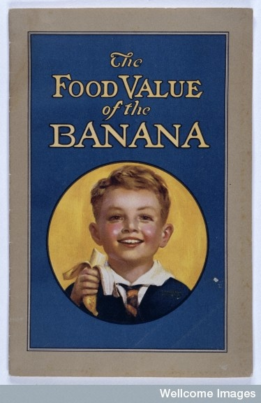 1928 Cover of booklet produced by the Research Department of the United Fruit Company in Boston, USA