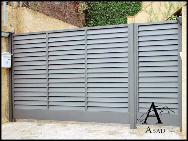 17 mejores im genes de rejas sencillas de seguridad en - Puertas metalicas para exteriores ...