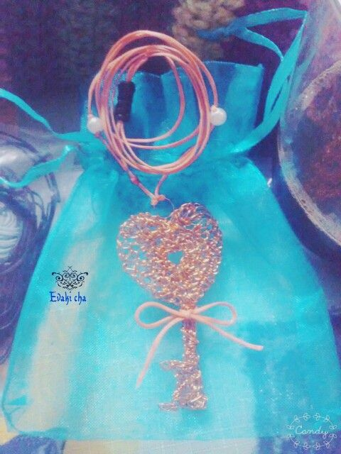 Necklace/The key of our heart!!!