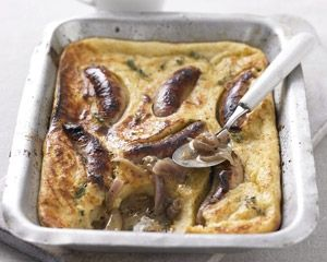 Recipes:Toad in the hole | yum | Pinterest