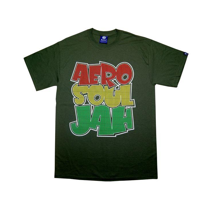 Souljah Graffi-Tee T-Shirt (Military Green)