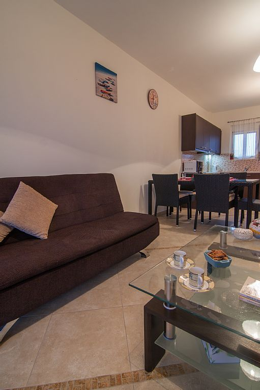 Rethymno apartment rental - The whole apartment is tastefully furnished and has a modern style!