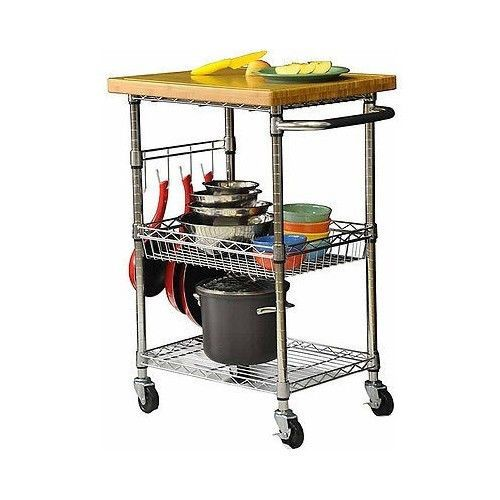 Industrial Rolling Kitchen Cart: 10+ Images About Shelving On Pinterest
