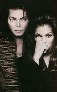 Michael and Janet Jakson