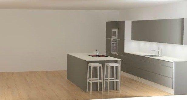 Gloria-keittiöt keittiö harmaa keittiö - Uusi talo. | Lily.fi