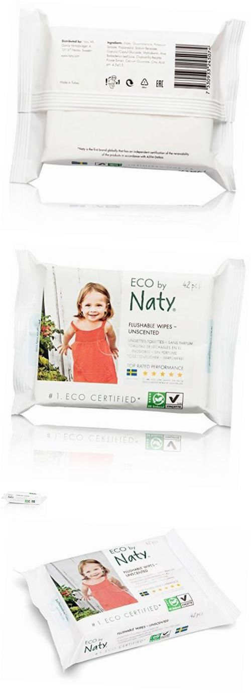 Baby Wipes 45456: Eco-Friendly Flushable Baby Wipes, Unscented, 12 Counts Of 42 (504 Wipes) -> BUY IT NOW ONLY: $41.69 on eBay!