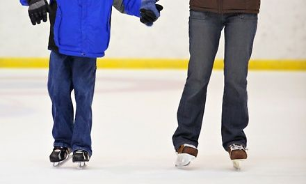Indoor ice-skating arena in business more than 34 years with weekly public skating sessions that include family party nights and teen nights