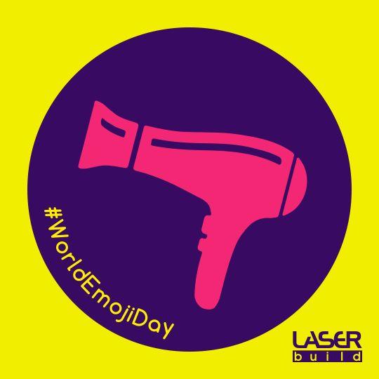 Celebremos!      #WorldEmojiDay #GaloEquipamentos #SecadorDeCabelo