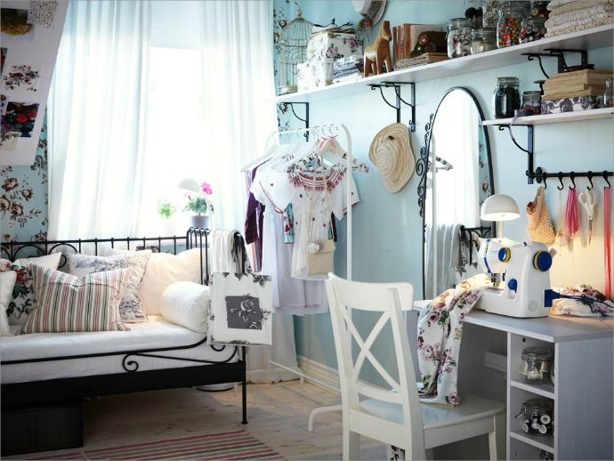 Ikea bedroom inspiration details of dream homes for Habitaciones juveniles ikea