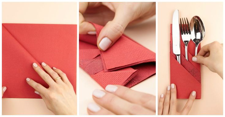 Add Some Flair To An Ordinary Table Napkin Using These Creative Folding Techniques