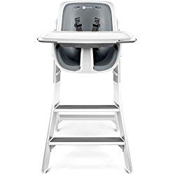 4moms High Chair, White/Grey