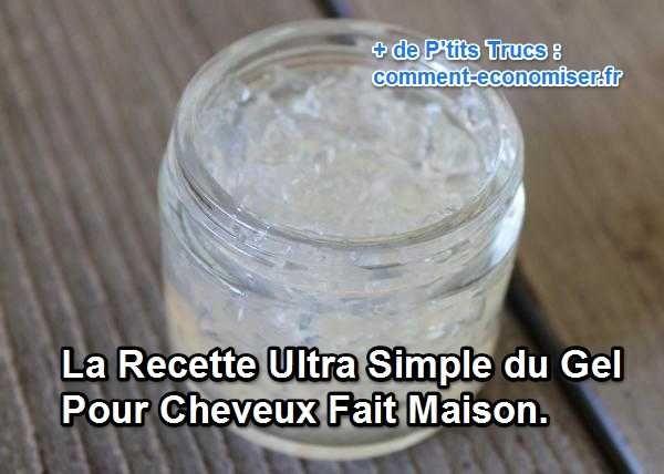 Vous voulez apprivoiser vos frisottis qui n'en font qu'à leur tête ? Et bien, c'est sans doute le moment de tester la recette rapide et facile de ce gel coiffant maison.  Découvrez l'astuce ici : http://www.comment-economiser.fr/recette-ultra-simple-gel-cheveux-fait-maison.html?utm_content=buffer1fb40&utm_medium=social&utm_source=pinterest.com&utm_campaign=buffer