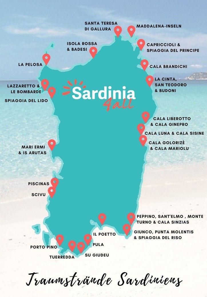 Traumstrände Sardinen: Die schönsten Strände und was sie so besonders macht.
