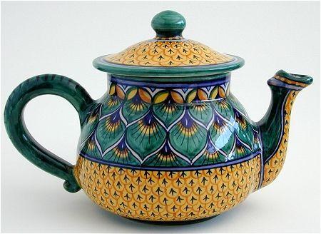 Debora Teapot Deruta Italian Pottery