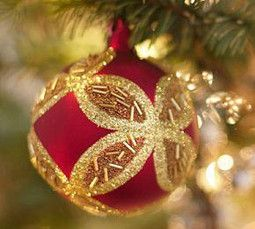Metallic Sphere Ornaments