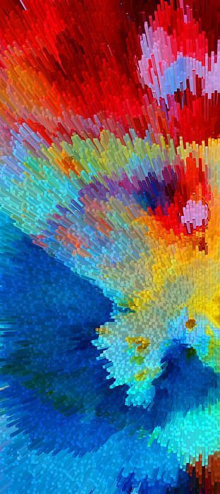 Primary Joy - Abstract Art By Sharon Cummings Painting by Sharon Cummings -