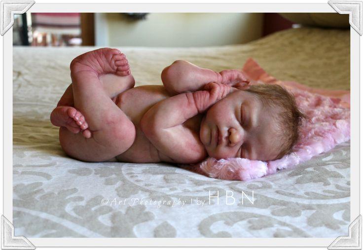 HBN* Art Dolls Presents Reborn Baby AMAZING Ashton Drake *Bundle of Love