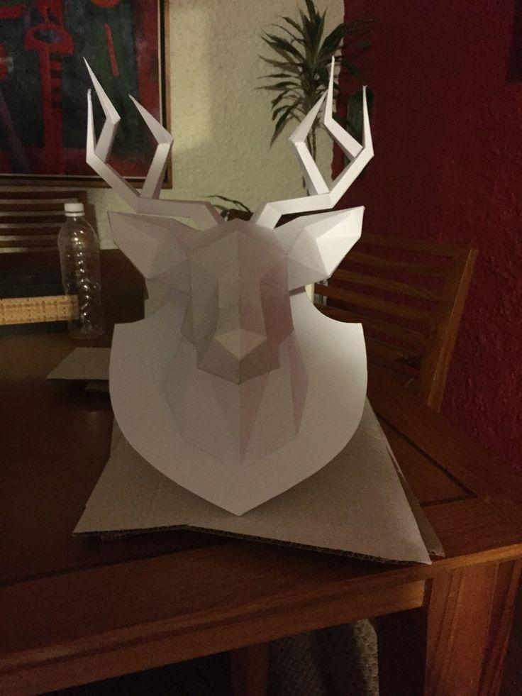 Reindeer By MajoCauduro #reindeer #art #sculpture