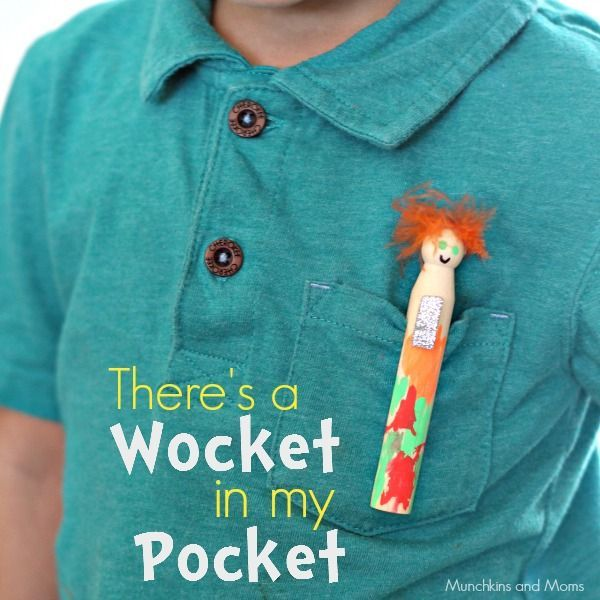 There's a Wocket in my Pocket Craft