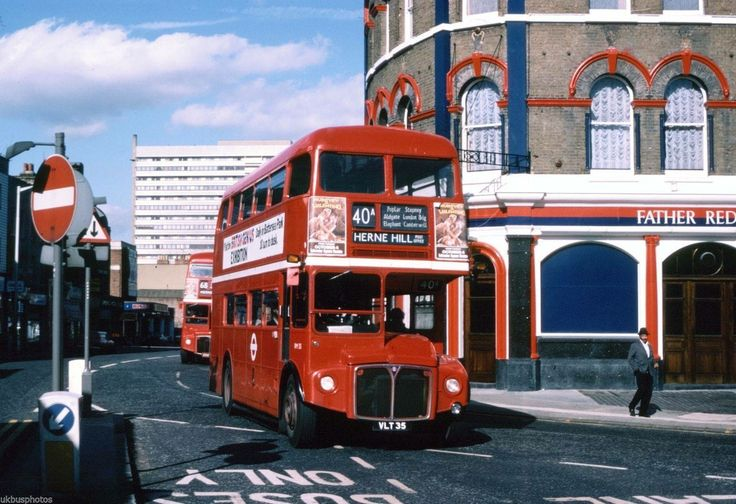 Camberwell Road Camberwell South East London England in the 1980's