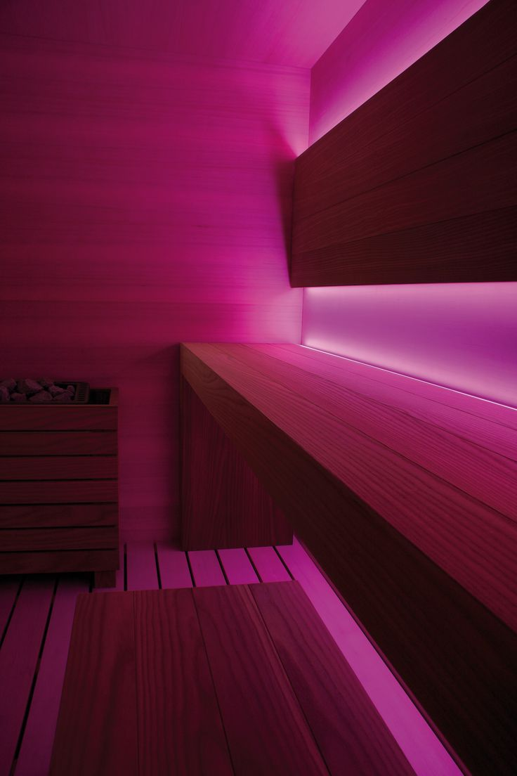 Sauna DREAM by Carmenta. Chromotherapy and Aromatherapy included.