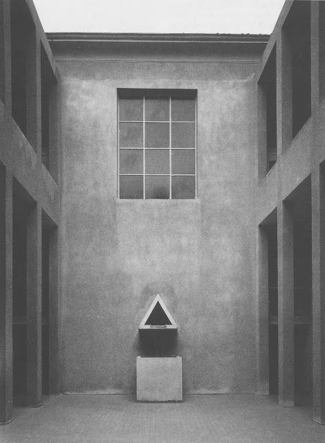Not sure if architecture... Or level from Quake... Aldo Rossi.