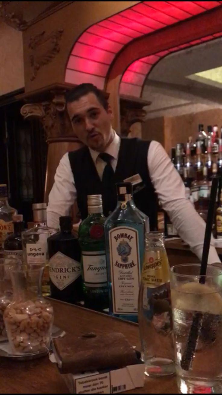 Best Barman in Magdeburg Mr. Yannick⭐️⭐️⭐️⭐️ Gin Tonic