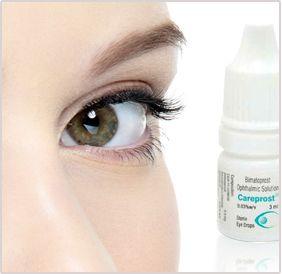 careprost (bimatoprost) is medication for eyelashes growth