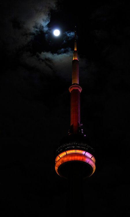 Nuit Blanche, CN Tower, Toronto | by Jay:Dee, via Flickr