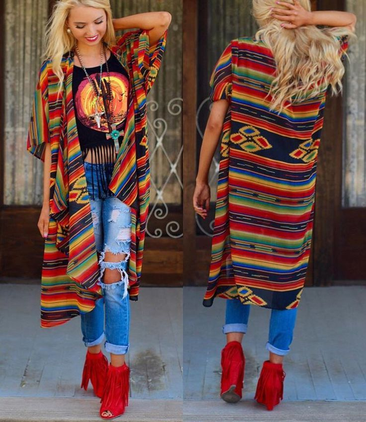 Love!!! Bold and bright colors and patterns. ❤❤
