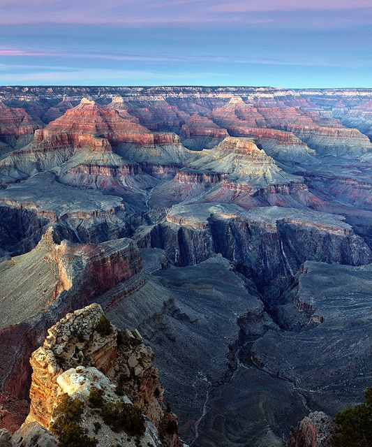 Grand_Canyon_Sunset_1 by seconomist, via Flickr