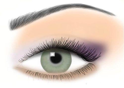 il trucco per chi ha gli occhi verdi