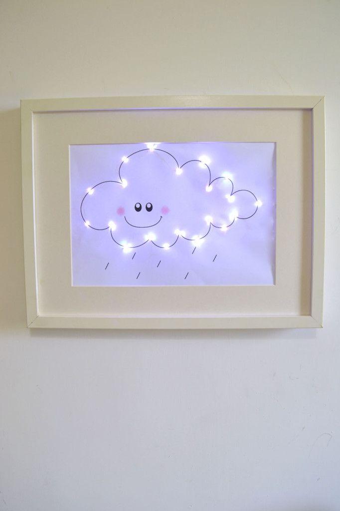 So cute! Uma luz noturna personalizada! :D