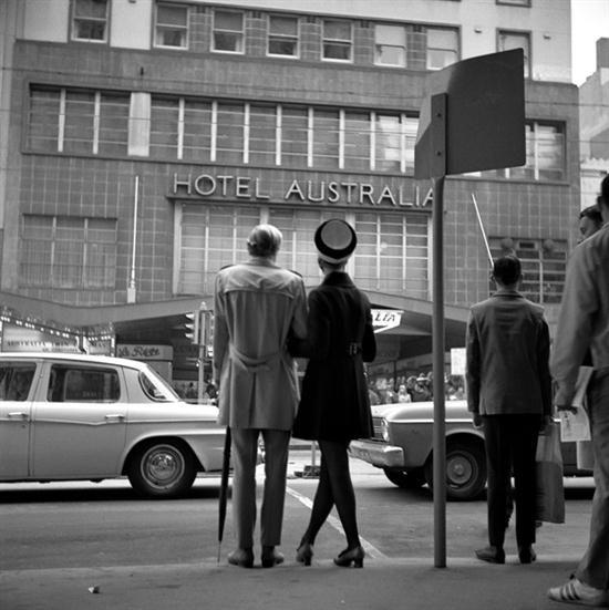 ANGUS OCALLAGHAN (BORN 1922) Fashion Street