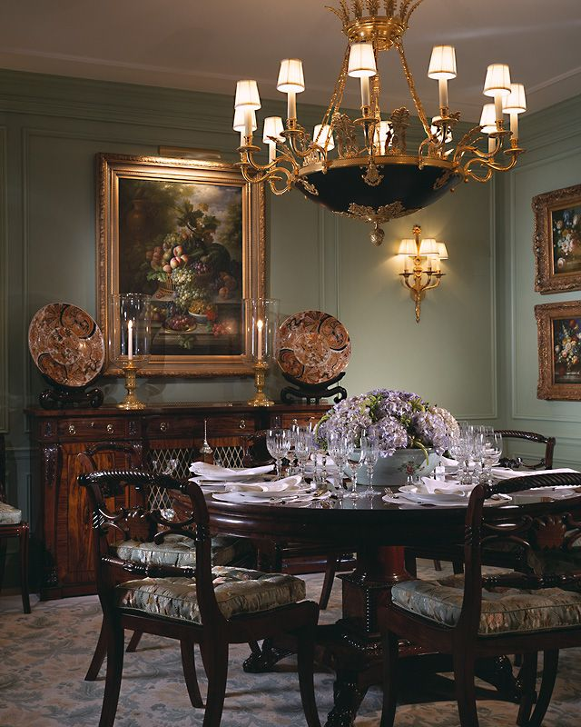 I like the ambiance of this dining room.  Inspires me to rethink the dining room. Scott Snyder Inc. Oceanview Palm Beach, FL