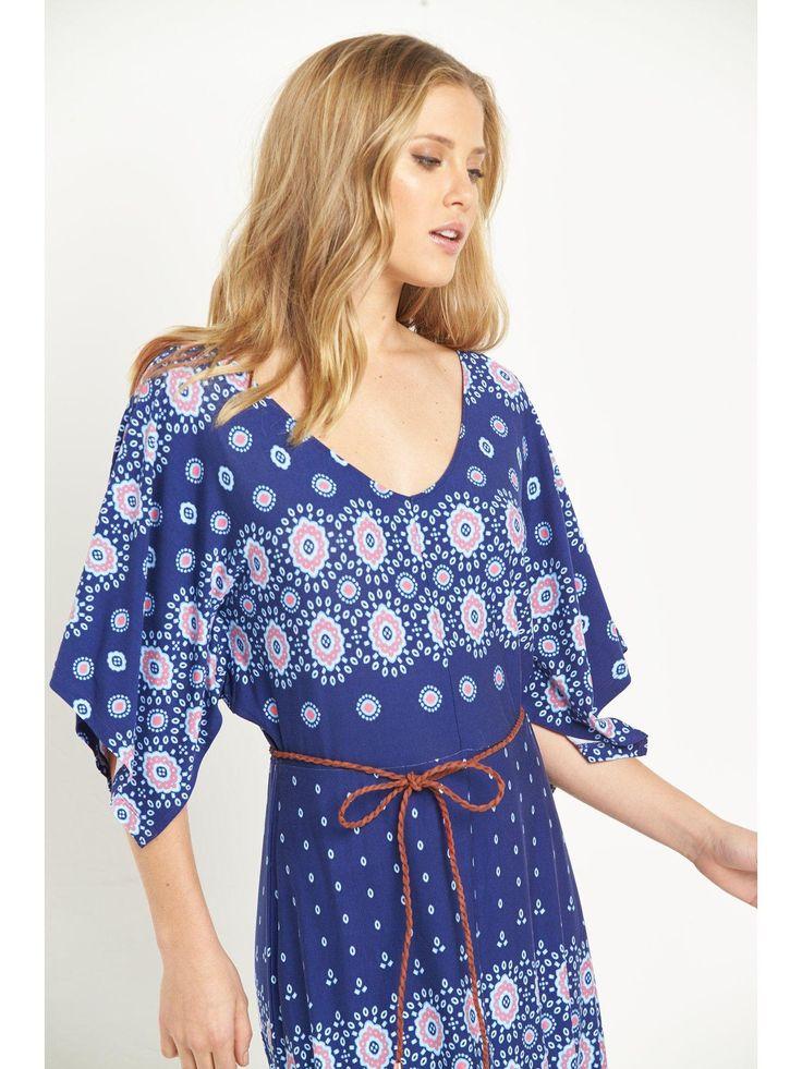 Washing Instructions: Machine WashableLength: MidWomens Dresses Shape: 3/4 Length sleeve