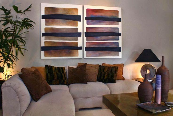Art abstrait la meilleure façon de décorer la maison