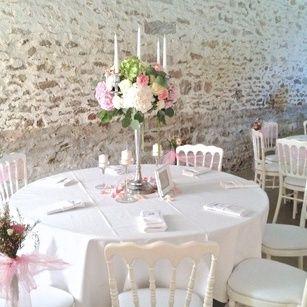 Chandelier Fleuri, mariage