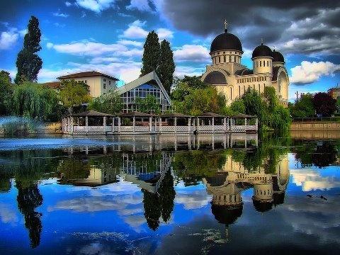 Holy Trinity Orthodox Cathedral, Arad, Romania
