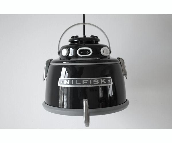 DIY: STØVSUGER-LAMPE