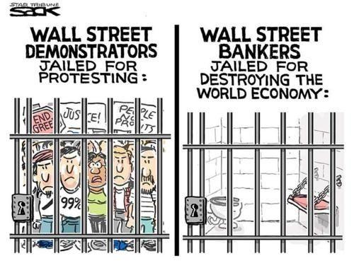 Political cartoons #ows