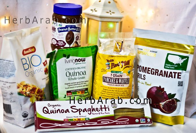 مدونة اي هيرب بالعربي وجبات صحية ووصفات كينوا والرمان للرجيم للسحور Recipes Whole Grain Pancakes Organic Quinoa