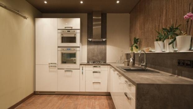 Kuchyně L - rozvržení