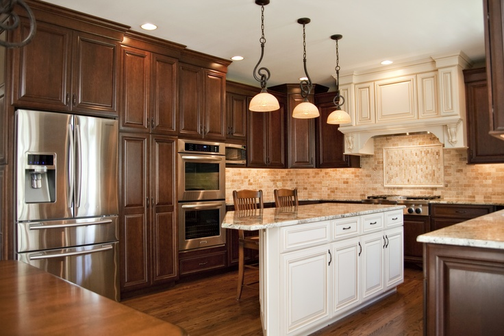 Aurora Il Kitchen Remodel Beautiful Cherry Cabinet In