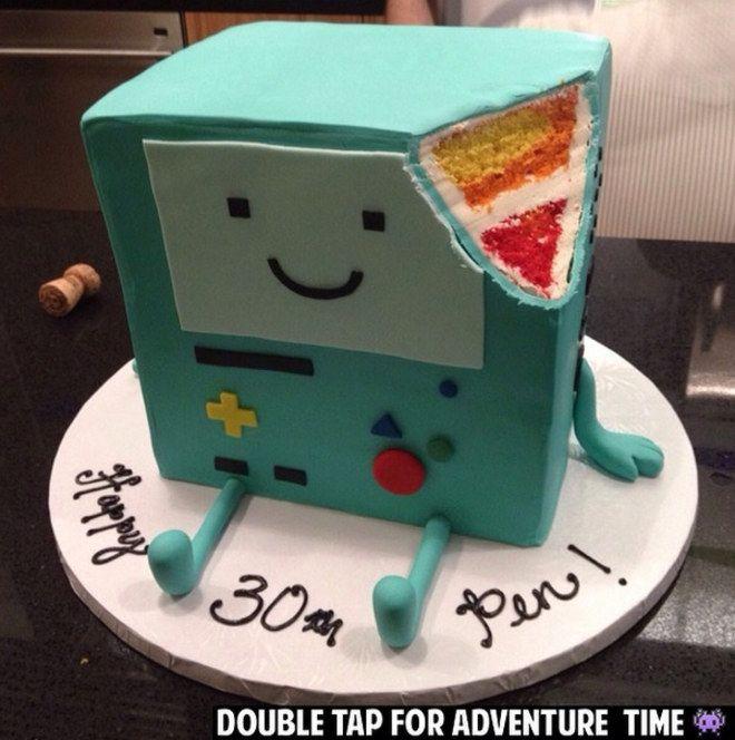 Roboter Torte