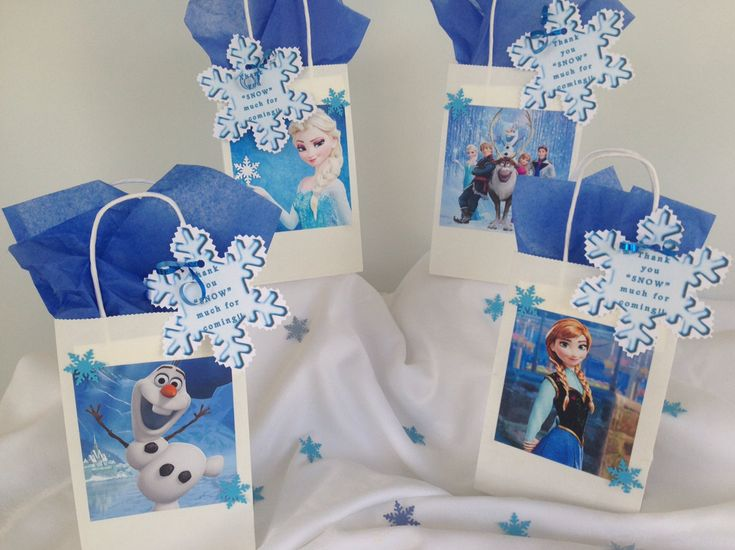 25 best ideas about frozen gift bags on