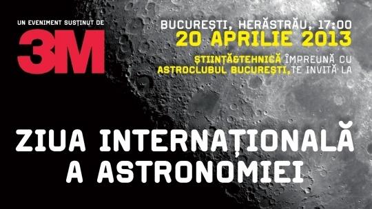 Ziua Astronomiei: 20 aprilie 2013 - vino la observații astronomice!