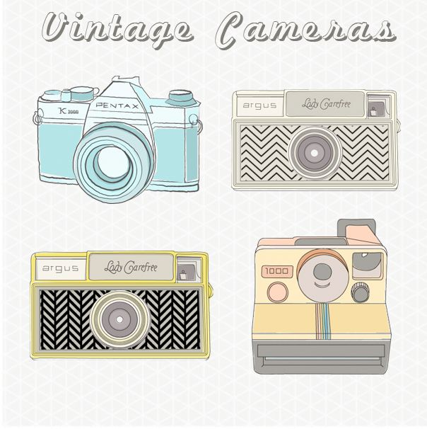 shop clothes online shopping Vintage Camera Images / Vintage Camera Clip Art