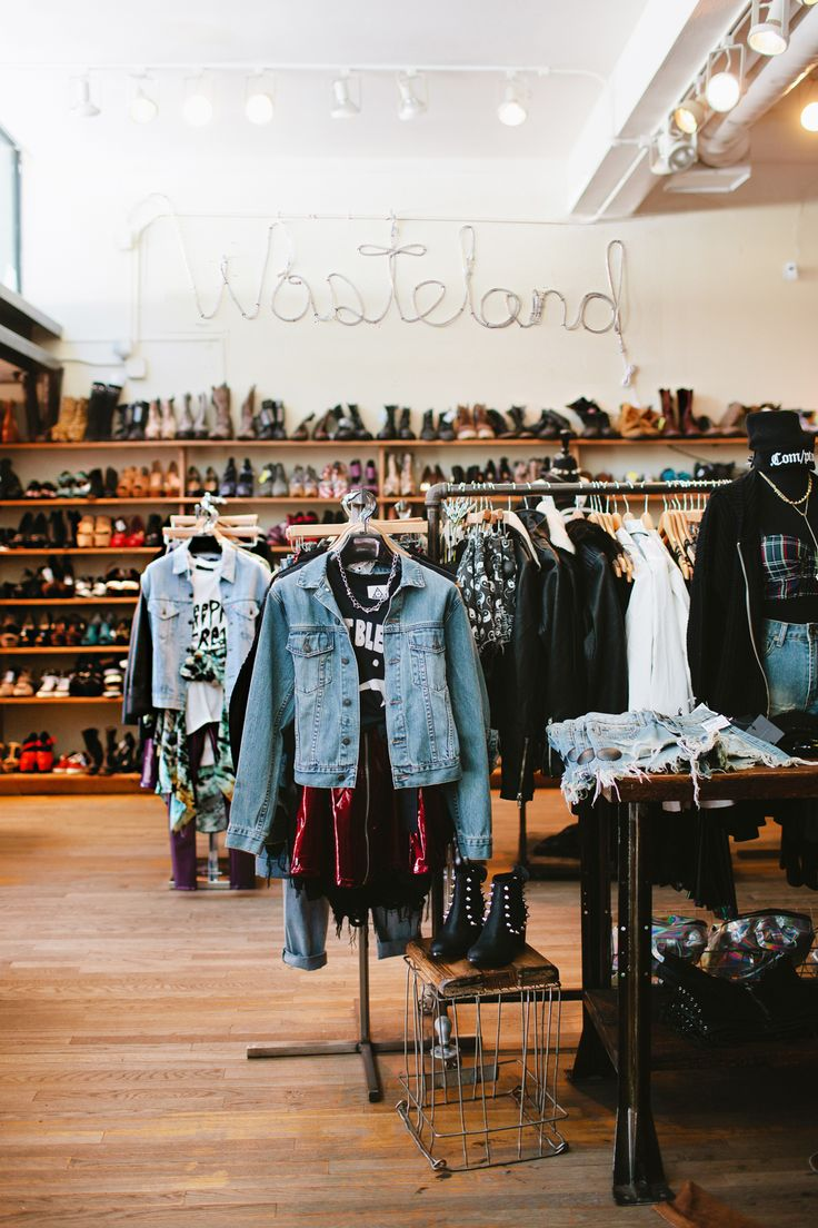 Wasteland   Wasteland is a different breed of thrift — after all, the store stocks new merch alongside its curated racks of gently worn pieces. From past-season Topshop to good-as-new silky Equipment blouses and high-wasited ACNE denim, Wasteland promises quality and on-trend pieces at deeply discounted prices.Wasteland 7429 Melrose Avenue (at N. Vista Street), 323-653-3028.